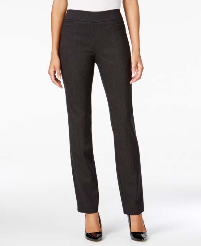 Jm Collection Pull On Slim Leg Pants Created For Macys | Clothing