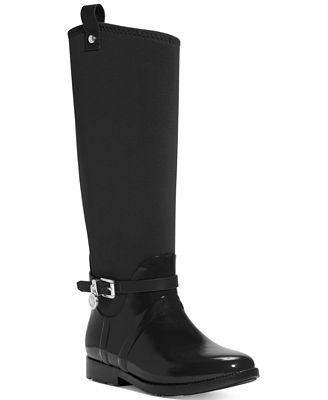 MICHAEL Michael Kors Charm Stretch Rain Boots