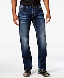 Men's Driven-X Relaxed Straight Fit Stretch Jeans