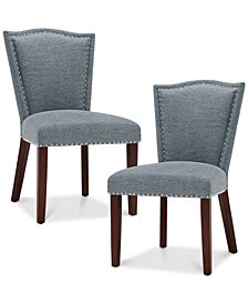 Nate Set Of 2 Dining Chairs, Quick Ship