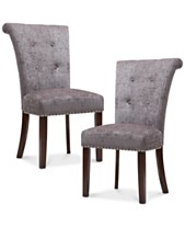 Daniel Set Of 2 Dining Chairs Quick Ship