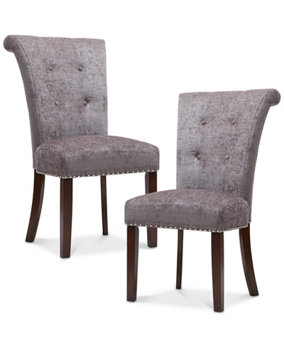 Colfax Set of 2 Dining Chairs, Quick Ship