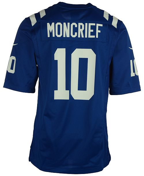 Nike Men s Donte Moncrief Indianapolis Colts Game Jersey - Sports ... 50164f2ad