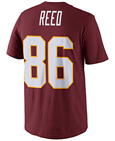 Nike Men's Jordan Reed Washington Redskins Pride Name and Number T-Shirt
