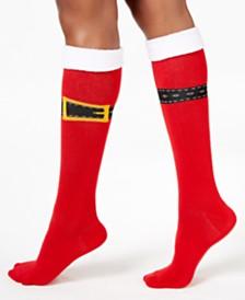 charter club womens buckle up knee high socks created for macys - Light Up Christmas Socks