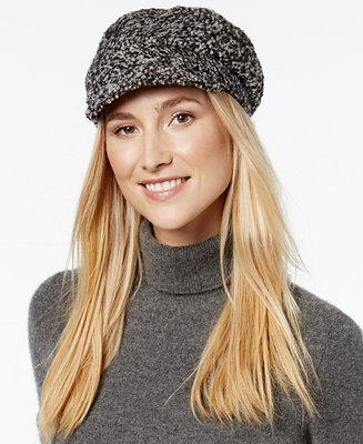 August Hats Be Bouclé Bias Cut Mod Cap - Handbags & Accessories ...  Undercut Boucle