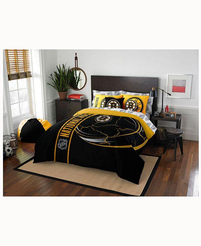 Northwest Company Boston Bruins 7-Piece Full Bed Set