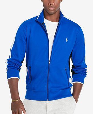 Polo Ralph Lauren Men's Interlock Full-Zip Track Jacket