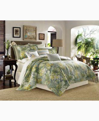 Image 1 Of Tommy Bahama Home Cuba Cabana King 4 Pc. Comforter Set