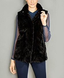 Mink Fur Reversible Vest