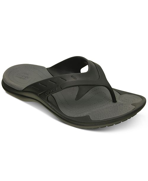 4c0b1f1c2 Crocs Men s Modi Sport Flip-Flops   Reviews - All Men s Shoes - Men ...
