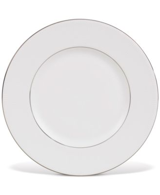 Dinnerware, Blanc sur Blanc Accent Plate