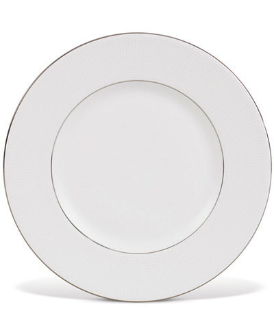 Vera Wang Wedgwood Dinnerware, Blanc sur Blanc Accent Plate