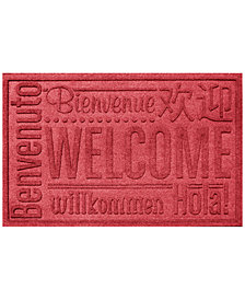 Bungalow Flooring Water Guard Worldwide Welcome 2'x3' Doormat