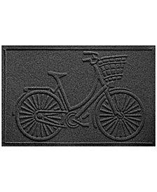 Bungalow Flooring Water Guard Nantucket Bicycle 2'x3' Doormat