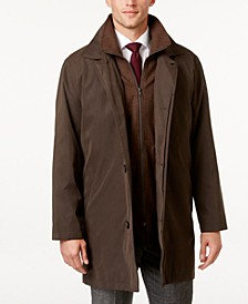 Edgar Classic Fit Raincoat with Removable Lining