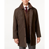 Deals on Lauren Ralph Lauren Edgar Classic Fit Raincoat