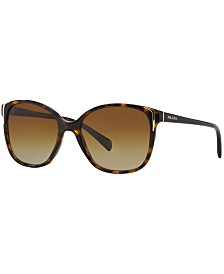 Prada Polarized  Polarized Sunglasses , PR 01OS
