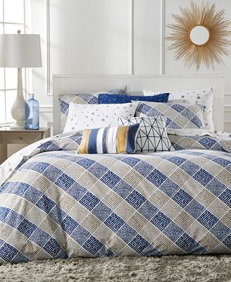 Whim by Martha Stewart Collection Dot Com Bedding Collection, Only at Macy's