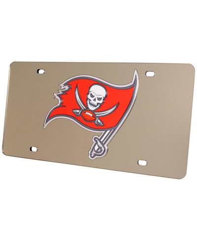 Rico Industries Tampa Bay Buccaneers Acrylic Laser Tag License Plate Cover