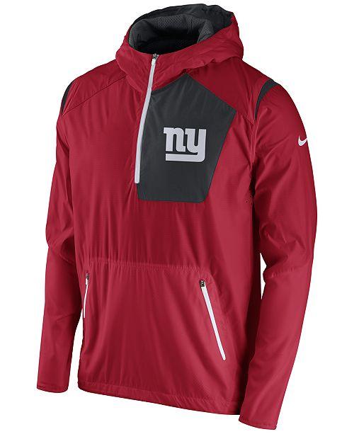 Nike Men's New York Giants Vapor Speed Fly Rush Hooded