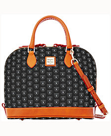 Dooney & Bourke Oakland Raiders Zip Zip Satchel
