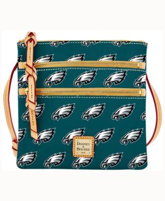 Philadelphia Eagles Triple-Zip Crossbody Bag