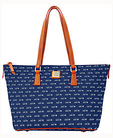 Dooney & Bourke Seattle Seahawks Zip Top Shopper