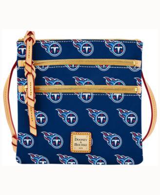 Tennessee Titans Dooney & Bourke Triple-Zip Crossbody Bag