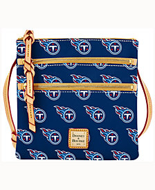 Dooney & Bourke Tennessee Titans Dooney & Bourke Triple-Zip Crossbody Bag