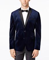 c4df3838d357 I.N.C. Men's Slim-Fit Velvet Blazer, Created for Macy's