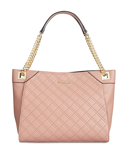 Calvin Klein Quilted Pebble Tote Handbags Amp Accessories