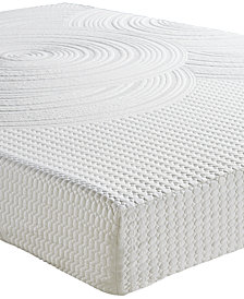 "Sleep Trends Orvil 9"" Classic Gel Memory Foam Tight Top Mattresses, Direct Ship, Created for Macy's"