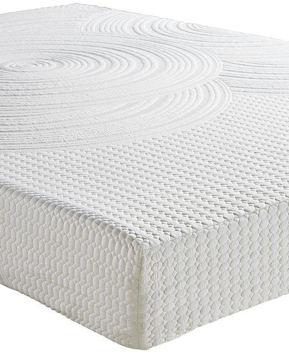 "Sleep Trends Orvil 9"" Classic Gel Memory Foam Mattress, Quick Ship, Mattress in a Box Created for Macy's- Queen"