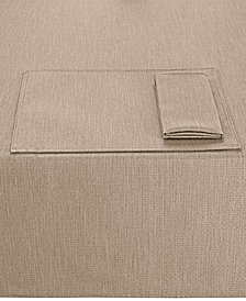 "Noritake Colorwave Taupe Collection 60"" x 102"" Tablecloth"