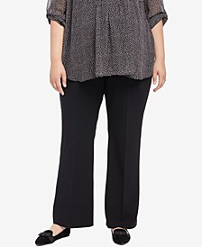 Plus Size The Zelie Secret Fit Belly Flare Leg Pants