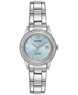 Citizen Eco-Drive Women's Silhouette Stainless Steel Bracelet Watch 29mm FE1120-59L, A Macy's Exclusive
