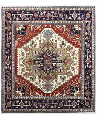 Fine Rug Gallery, One of a Kind, B597293 Indo Herez Ivory 9