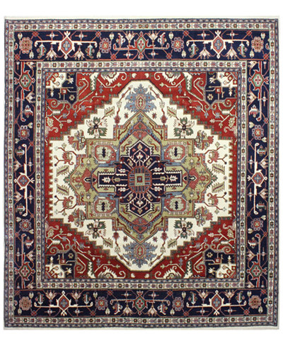 Fine Rug Gallery, One of a Kind, B597293 Indo Herez Ivory 9'8\\\