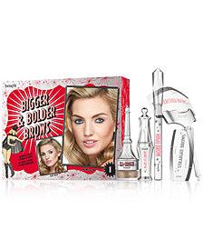 Benefit Cosmetics 6-Pc. Bigger & Bolder Brow Set