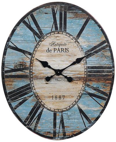 Oval Wall Clock Clocks Macy S