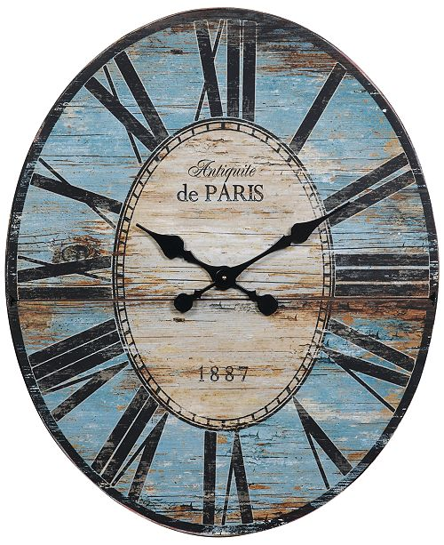 3R Studio Oval Wall Clock