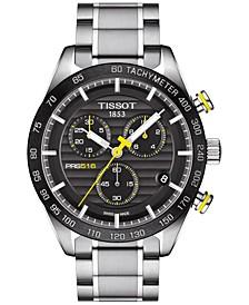 Men's Swiss Chronograph PRS 516 Stainless Steel Bracelet Watch 42mm T1004171105100