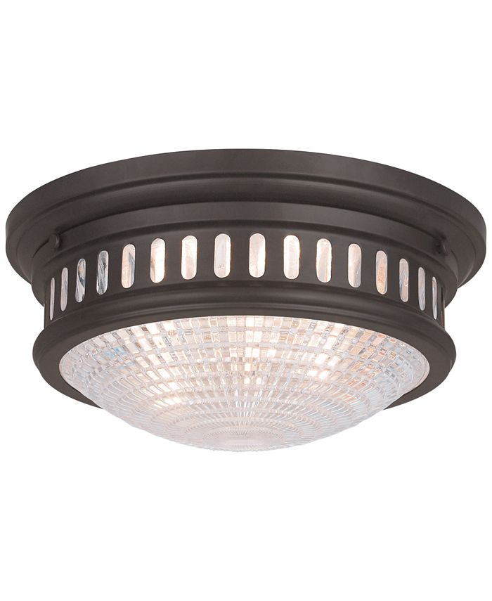 Livex - Berwick Semi-Flush Ceiling Light