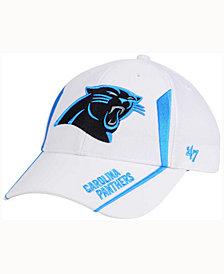 '47 Brand Carolina Panthers White Arc MVP Cap