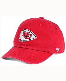 '47 Brand Kids' Kansas City Chiefs CLEAN UP Cap