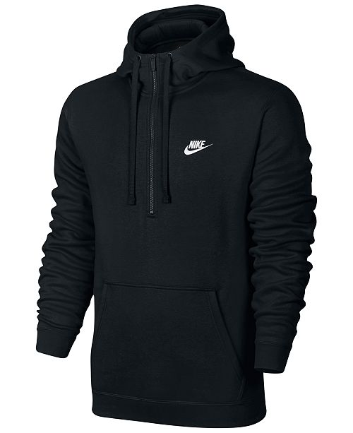 ca30a5837493 Nike Men s Half-Zip Hoodie   Reviews - Hoodies   Sweatshirts - Men ...