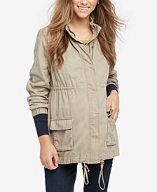 Daniel Rainn Maternity Drawstring Jacket