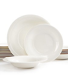 Dinnerware, New Cottage 18-Piece Set Service for 6