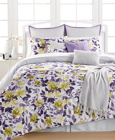 CLOSEOUT! Spring Garden 14-Pc. King Comforter Set